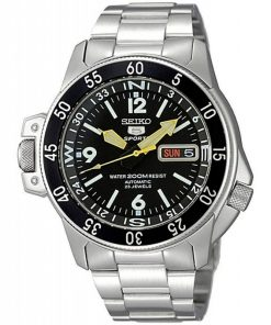 RELOJ SEIKO SKZ211K1 AUTOMATIC 21 JEWELS 5 SPORTS 200M BLACK